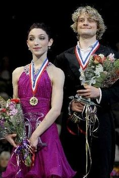 Meryl Davis and Charlie White won their 4th U.S. title in row. / Matthew Stockman/Getty Images