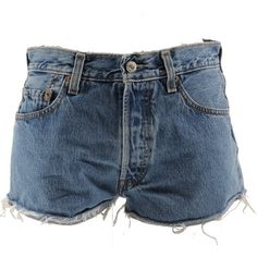Remake Levis Denim short ❤ liked on Polyvore featuring shorts, bottoms, short, pants, jean shorts, short jean shorts, light blue denim shorts, levi shorts and light blue shorts