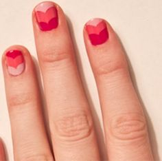 8 Lovely Valentine's Day Nail Designs: Ombre!