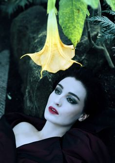 ❀ Flower Maiden Fantasy ❀  beautiful photography of women and flowers - Erin O´Connor by Nick Knight