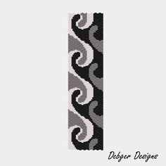 wave two drop peyote pattern. (you can make out the pattern without having to buy it)
