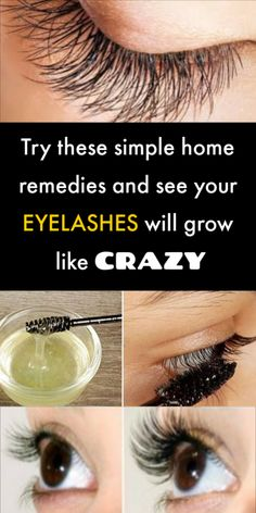 Top 5 Home Remedies to Get Beautiful Long Eyelashes - Schönheit Ideen Beauty Care, Diy Beauty, Beauty Skin, Health And Beauty, Healthy Beauty, Homemade Beauty, Face Beauty, How To Grow Eyelashes, Longer Eyelashes