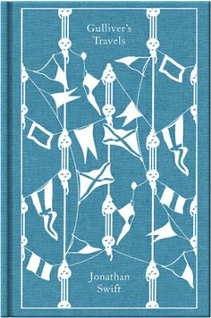 Gulliver's Travels by Jonathan Swift. Penguin's Clothbound Classics with cover design by Coralie Bickford-Smith.
