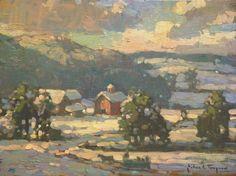 """Sleigh Ride"" John Traynor - The Harrison Gallery www.theharrisongallery.com"