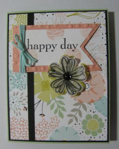 Card made using Sale-A-Bration products.