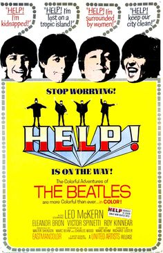Directed by Richard Lester. With John Lennon, Paul McCartney, George Harrison, Ringo Starr. Sir Ringo Starr finds himself the human sacrifice target of a cult, and his fellow members of The Beatles must try to protect him from it. Poster Dos Beatles, Les Beatles, Beatles Art, Beatles Photos, Ringo Starr, John Lennon, Eleanor Bron, Concert Rock, Richard Lester