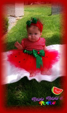 Watermelon tutu so cute