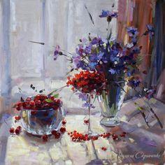 Skripchenko Liudmila. Summer still-life