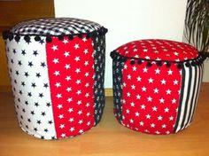 Sitzsack: in zwei verschiedenen Grössen realisierbar Lunch Box, Handmade, Kid Shoes, Handarbeit, Nice Asses, Hand Made, Bento Box, Arm Work