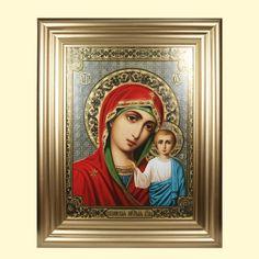 """SHOP-PARADISE.COM:  Ikone """"Kazanskaya"""" im Rahmen, 30х40 cm 32,13 €"""