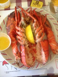 PEI lobsters Canada 150, Lobsters, Foreplay, Prince Edward Island, New Brunswick, British Columbia, Places, Travel, Food