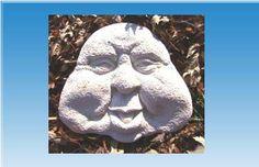 Stein Gesicht Gießform Beton Form