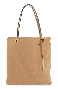 c3a77282aae Vince Camuto  Lyle  Leather Tote Carteras Para Mujeres