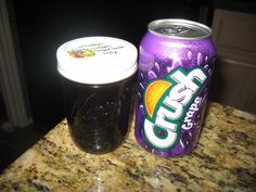 jelly made with soda!! you can use any flavor- orange, grapefruit, Dr.Pepper- even Mt.Dew!!!
