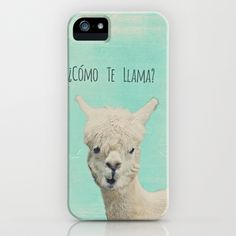 Lama iPhone & iPod Case by M✿nika  Strigel	 - $35.00 @McKenzie Livingston  you want this don't you?