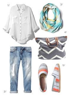 off season beach weekend featuring corsica lightweight scarf by megan auman // click for outfit details