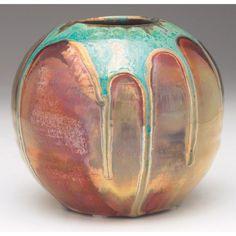 Pewabic Pottery vase, Detroit, early 20th century