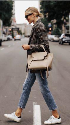 Black Girl Fashion, Retro Fashion, Korean Fashion, Dress Logo, Suit Shirts, Petite Fashion Tips, Fashion Jackson, Plaid Blazer, Blazer Suit