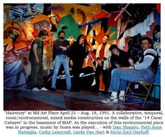 """Kevin Dayhoff Art: """"Hairstory"""" at Maryland Art Place April 21 - Augus..."""