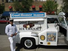 Good Humor Ice Cream Truck- The Good Humor Man would reach in and know exactly where your choice was without looking