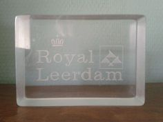 Glasfabriek Leerdam.