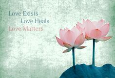 Spiritual Inspiration – Why Love Exists, Why Love Heals, & Why Love Matters http://bit.ly/1iZbnlN