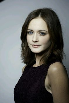 Alexis Bledel. hair super cute