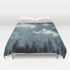 The cloud stealers Duvet Cover by HappyMelvin | Society6