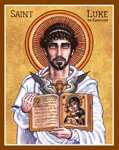St. Luke the Evangelist icon by Theophilia.deviantart.com on @deviantART