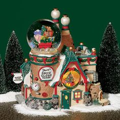 """Department 56: Products - """"Flurry's Snowglobe Maker"""" - Introduced December, 2003 •Retired December, 2006 Z"""