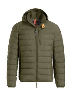 59e0a98b5d6 Rabatt Green Last Minute Hooded Down Jacket for menn fra Parajumpers