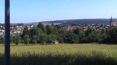 Blick auf Weil der Stadt vom Steckental - Juni 2015