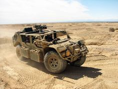 Flyer Gen II Advanced Light Strike Vehicles - lightweight and perfect for severe, rough and restrictive terrain