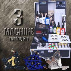 3 Machine Artists Tattoo Kit