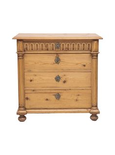 19th Century Swedish Chest of Drawers in Pine
