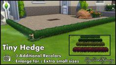 Mod The Sims - Tiny Hedge