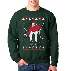 Put a holiday spin on your favorite Drake move with this Christmas sweater.