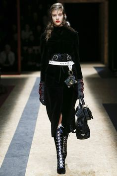 Prada Fall 2016 Ready-to-Wear Fashion Show.  This coat is to die for!