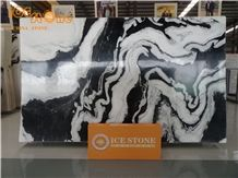 Panda White Marble/Black and White Mixed Marble Slabs for Project Bathroom Wall Floor Tiles from China - StoneContact.com