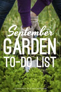 September Garden To-Do List — handy guide!