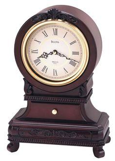 Knollwood Mantel Clock by Bulova - Chiming Quartz