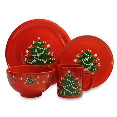 Waechtersbach Christmas Tree Dinnerware