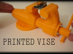 This is a 3D printed model of a functioning vise! NOTE: I created this print to lightly hold electronic components while soldering, etc. It's not designed for, and should not be used for rigorous clamping force. This is a plastic model of a vice, not a real vice, and should be used according. As noted by user DevWolf in the comment section, PLA plastic is very rigid and can break under stress in unpredictable ways creating shrapnel like pieces that can cause injury. This model has tight…