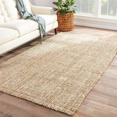 Woven 100% natural jute these rugs are a staple in any style home. Primary materials: 100-percent Jute Latex: Latex Free Style: Handmade Primary color: Latte Secondary colors: NA Pattern: Solid Tip: W