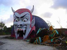 Abandoned Theme Park, Panama City Beach, Florida.