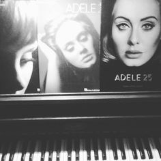 @adele ...music therapy. Love playing these songs on the piano!  #adele #adeleatkins #hellofromtheotherside #whenwewereyoung #riverlea #musictherapy #piano #pianist #sheetmusic #musiclover #adele25 #adele19 #adele21 by paperdollsbycory