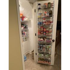 Kitchen Storage Ideas Pantry + Kitchen Storage Ideas - New ideas Pantry Door Storage, Pantry Door Organizer, Small Pantry Organization, Diy Kitchen Storage, Bookshelf Pantry, Over The Door Organizer, Decorating Kitchen, Door Mounted Spice Rack, Door Spice Rack