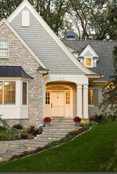 house paint colors limestone - Google Search
