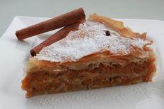 Αποτέλεσμα εικόνας για κολοκυθοπιτα γλυκια Apple Pie, Cool Words, Banana Bread, Food And Drink, Sweet, Ethnic Recipes, Desserts, Nice, Recipes