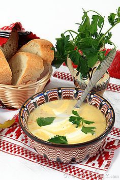 Traditional cuisine in Romania: tripe soup